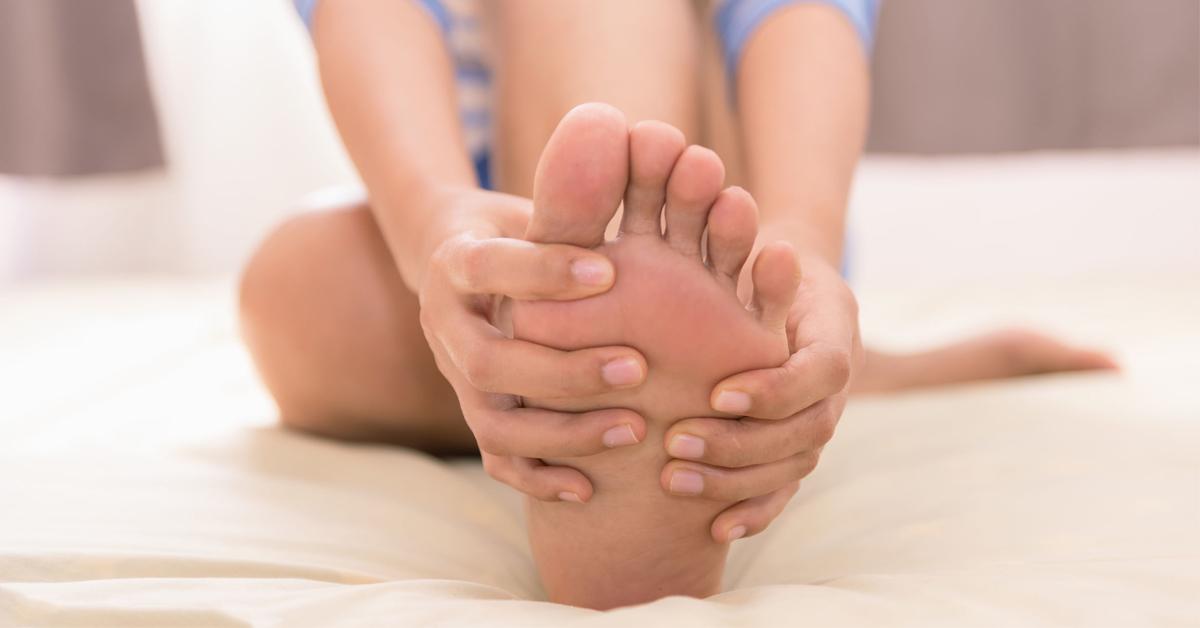sensación de calor en el cuidado de la diabetes del pie